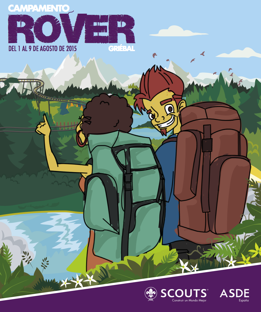 campamento rover
